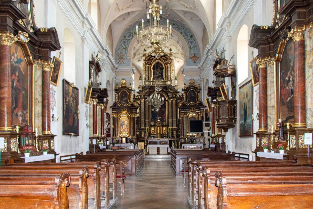 Pińczów. Kościół pod wezwaniem Najświętszej Marii Panny
