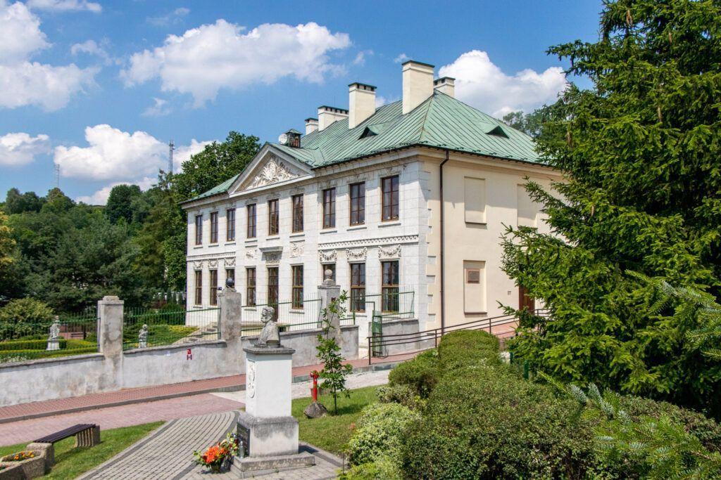 Pałac z boku