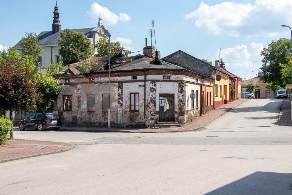 Dom w centrum, o którym wspomniałam