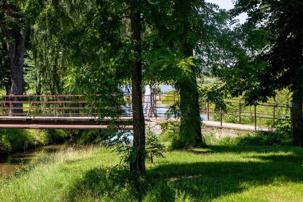 Solec-Zdrój. Park Zdrojowy