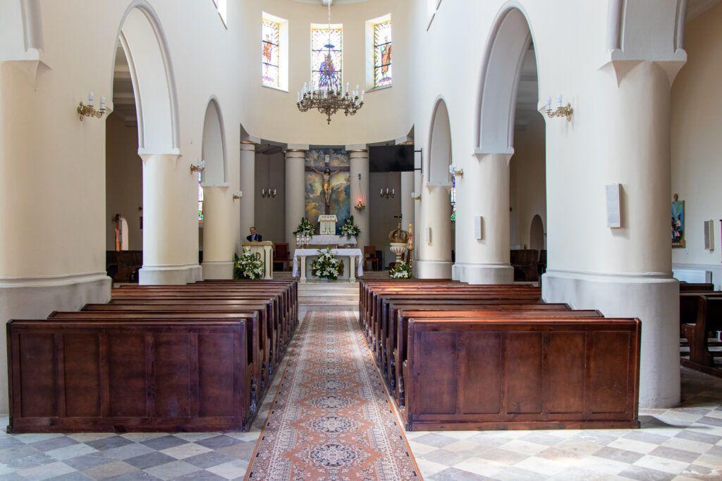 Solec-Zdrój. Wnętrze kościoła
