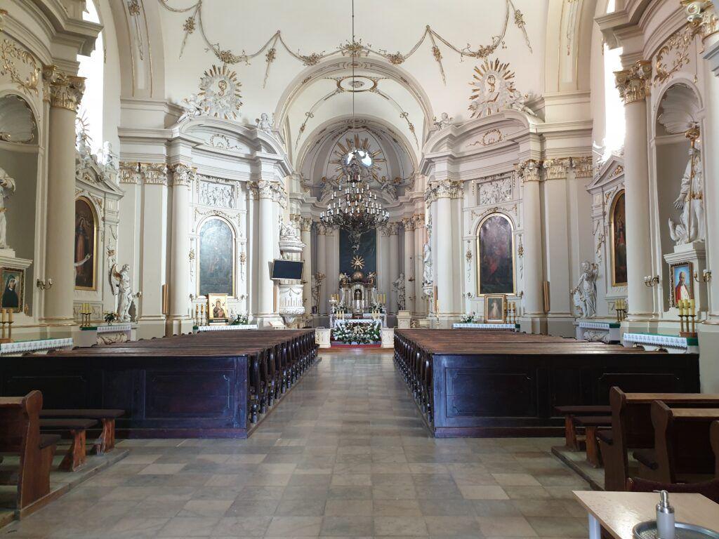 Rydzyna. Wnętrze kościoła św. Stanisława Biskupa