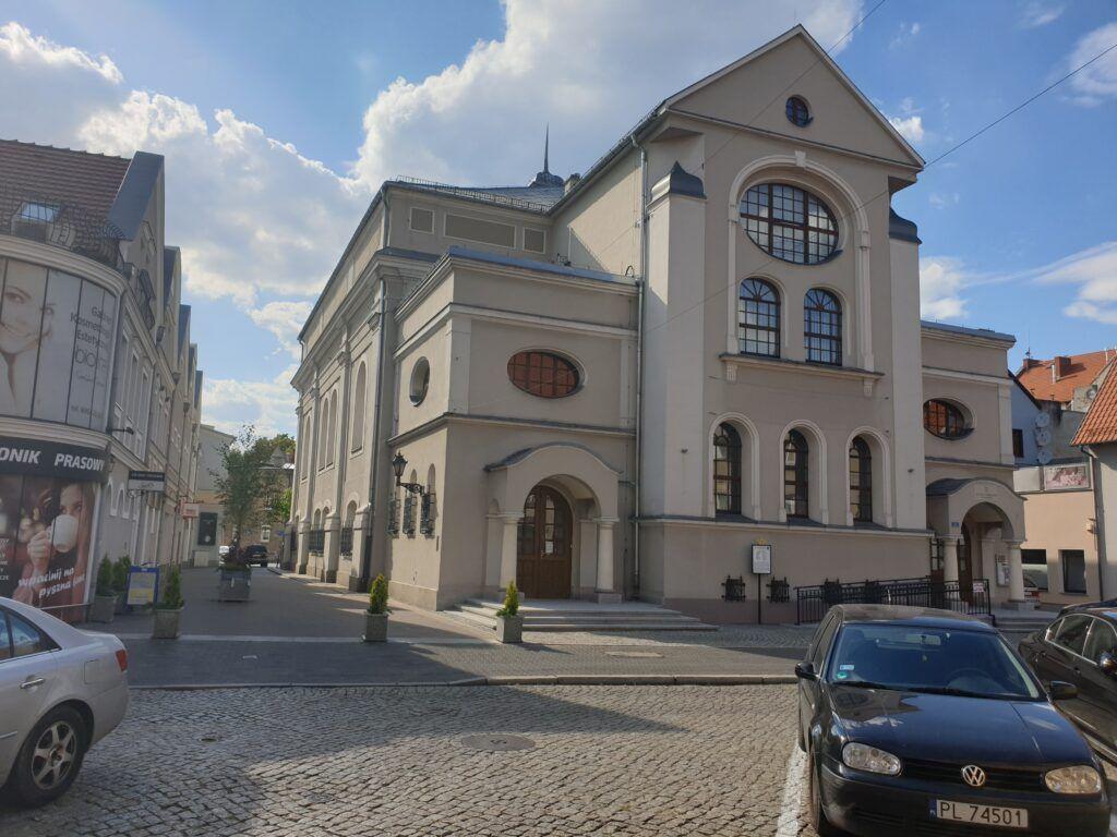 Dawna synagoga, dziś muzeum w Lesznie