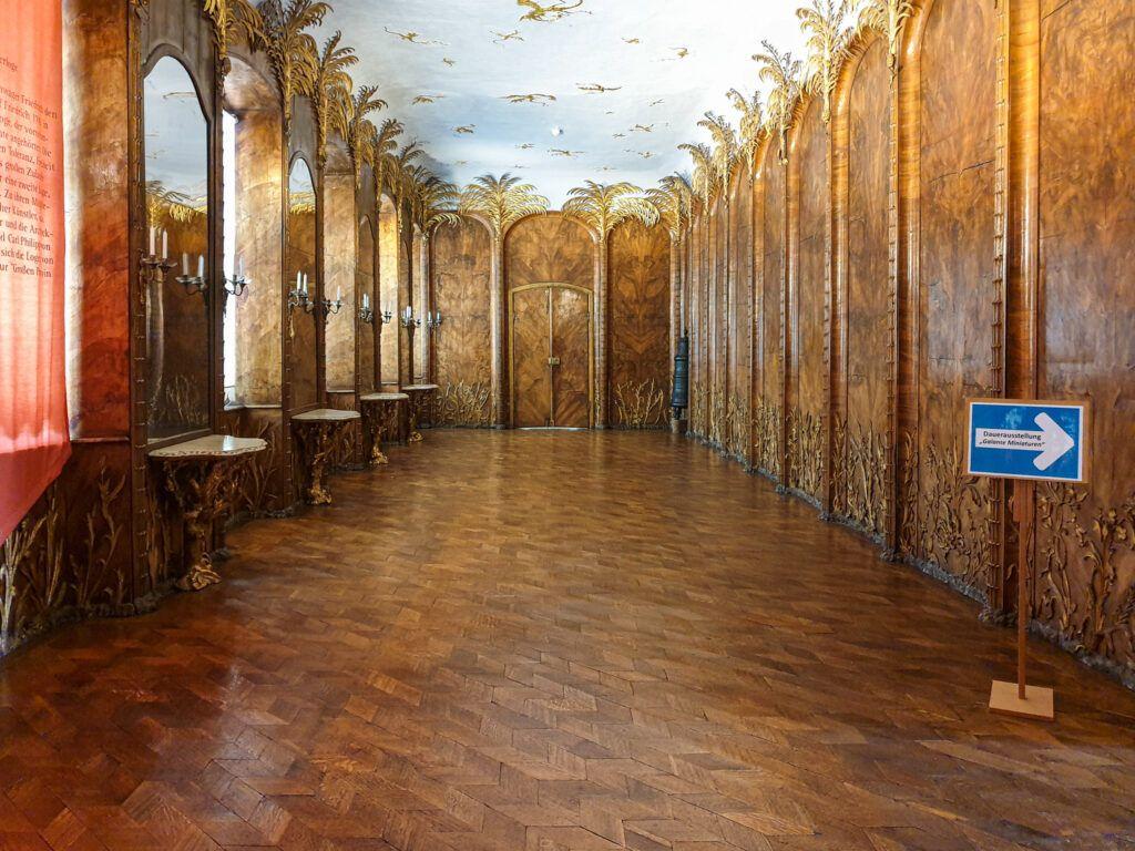 Sala z palmami w Nowym Pałacu w Bayreuth