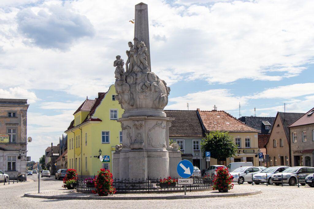 Rydzyna. Pomnik św. Trójcy
