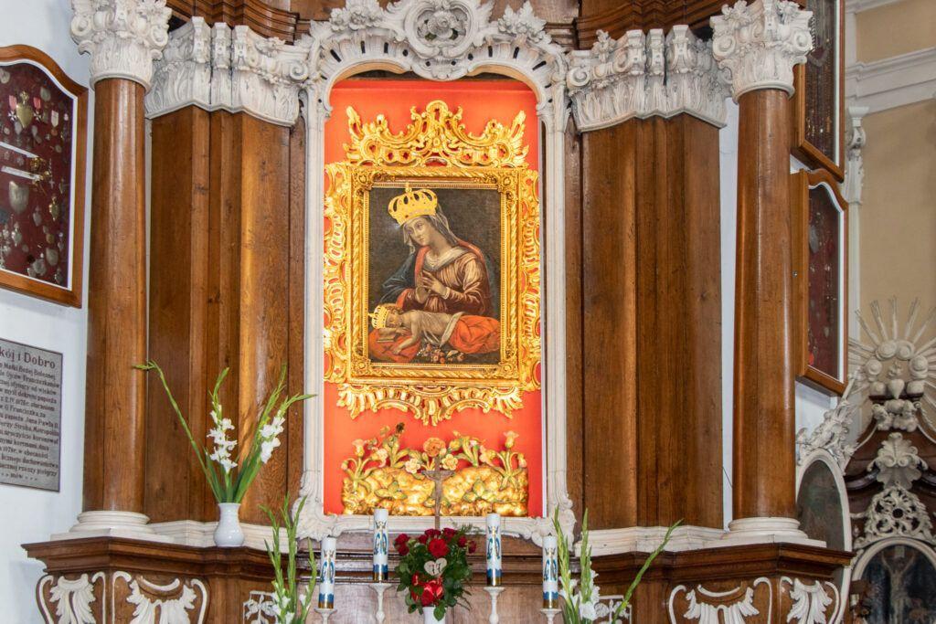 Osieczna. Cudowny obraz w kościele św. Walentego