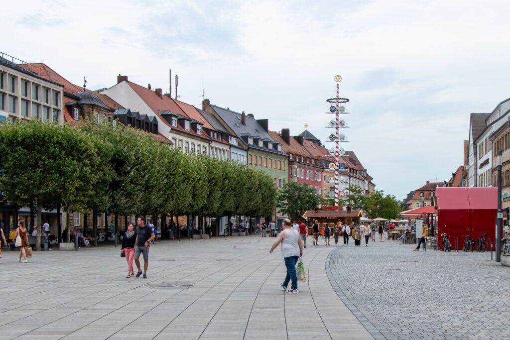 Rynek w Bayreuth