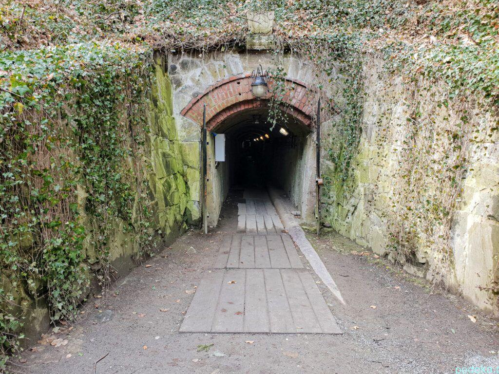 Złoty Stok. Wejście do kopalni