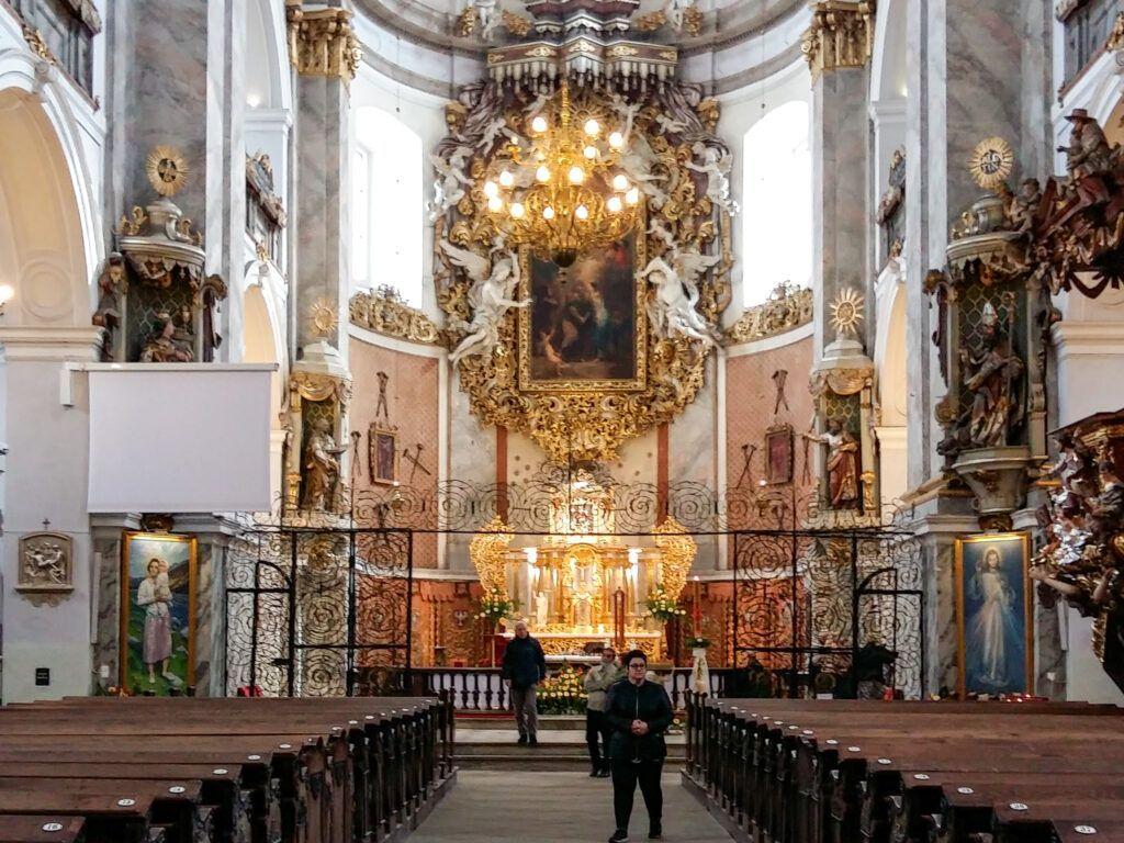 Weekend w Ząbkowicach Śląskich. Bardo kościół