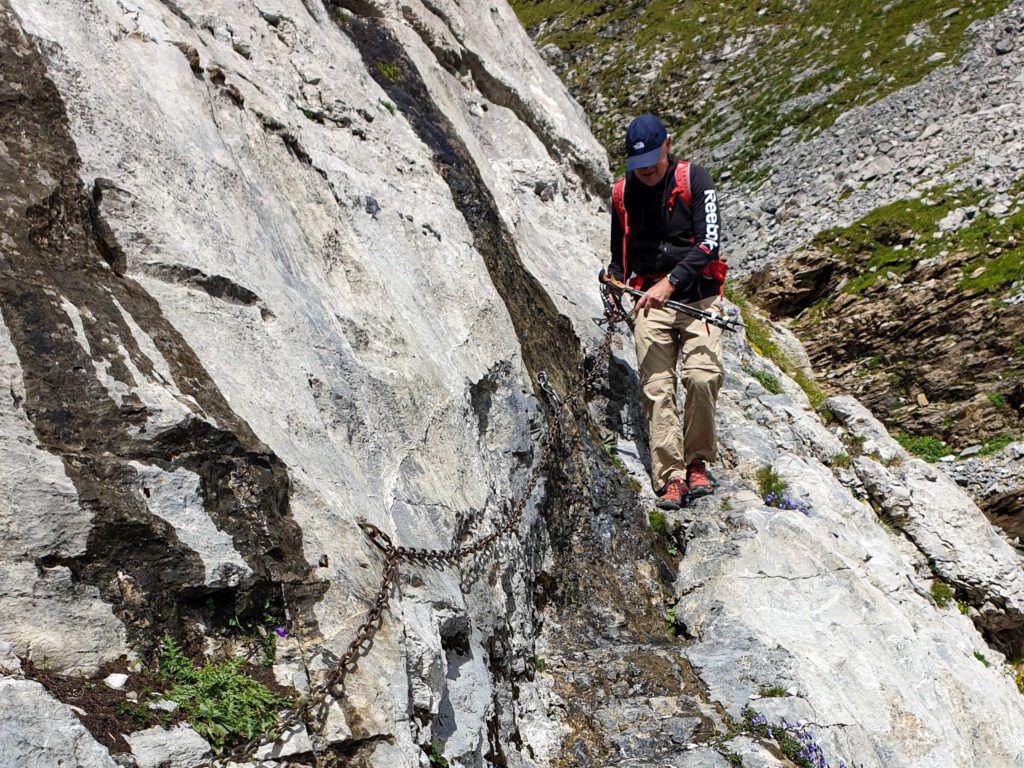 Marcin na skalnej ścianie