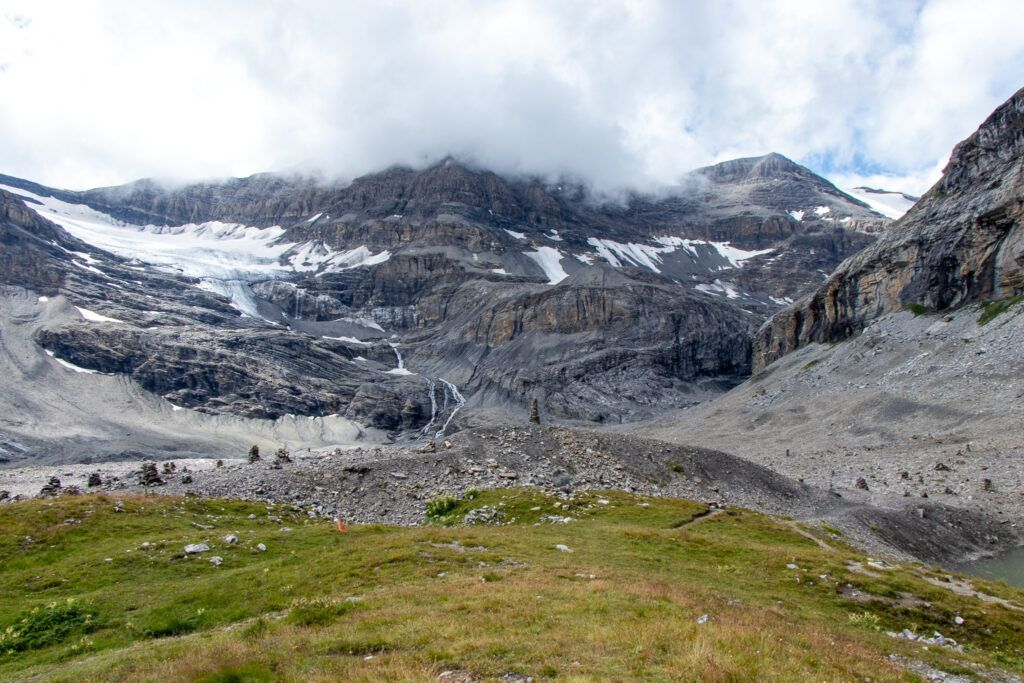 Leukerbad do schroniska Lämmeren , widok z okolic schroniska