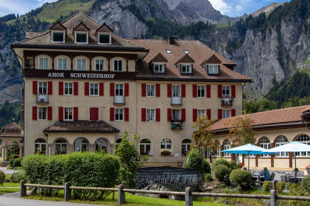 Hotel w Kandersteg