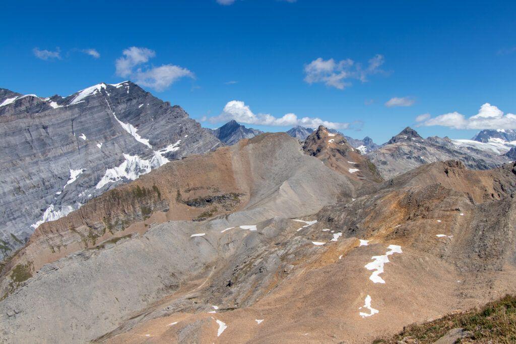 Leukerbad na Torrenthorn. Alpy