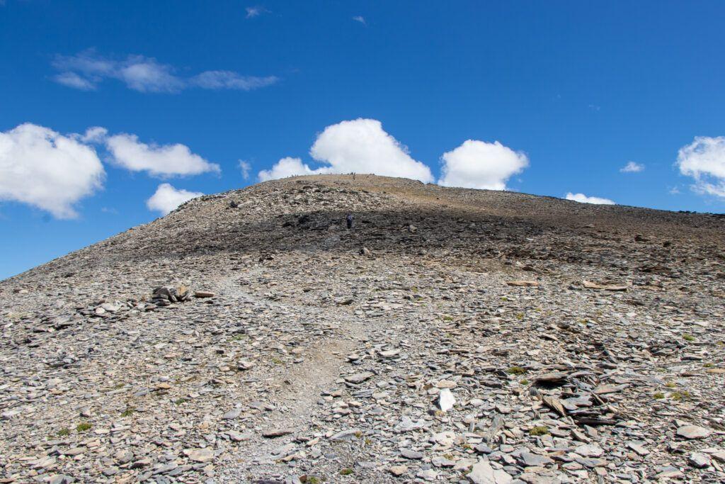 Leukerbad na Torrenthorn Ścieżka pod górę