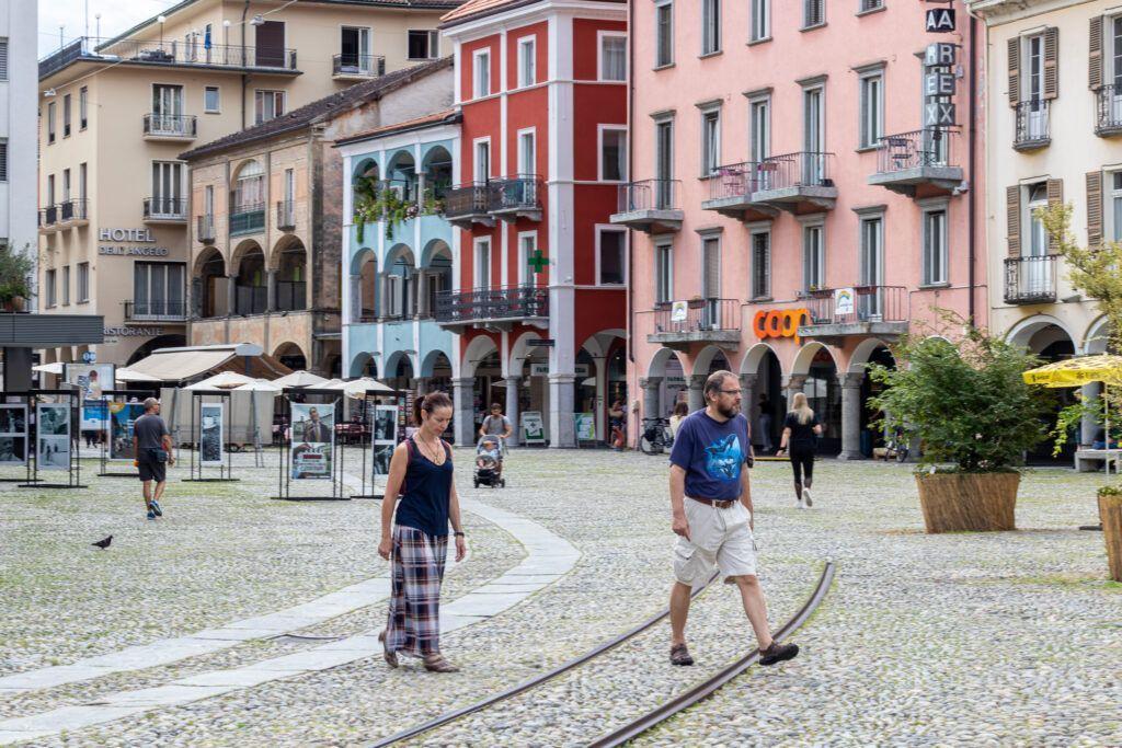 W centrum Locarno