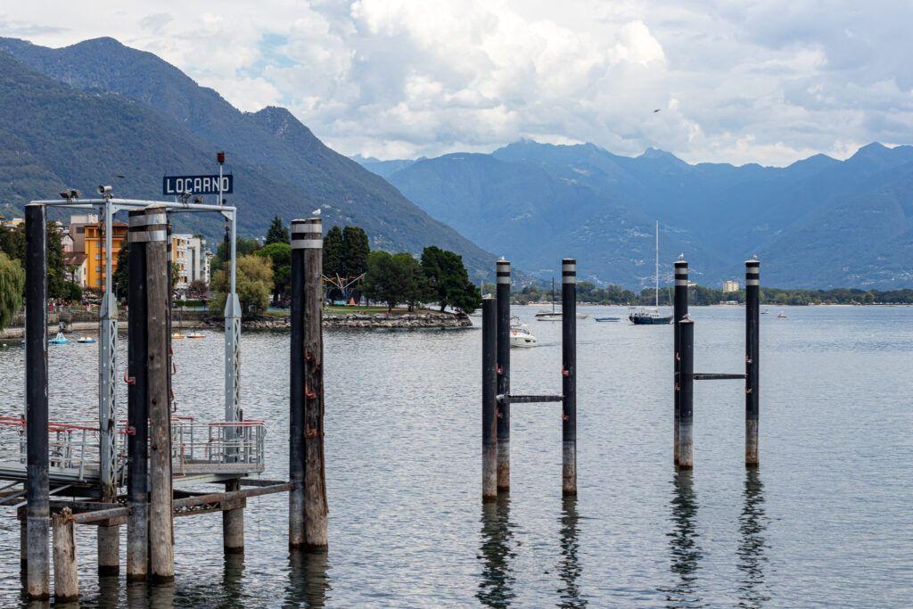Przystań nad jeziorem Maggiore