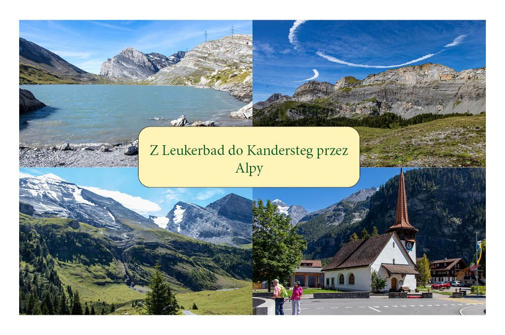 Z Leukerbad do Kandersteg