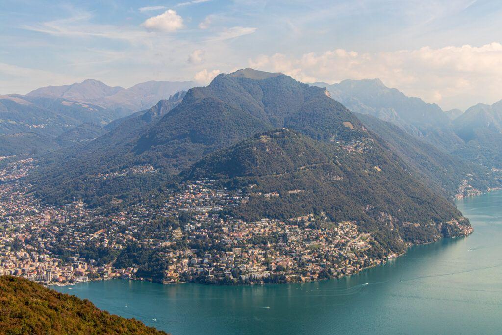 Lugano. Widok z góry