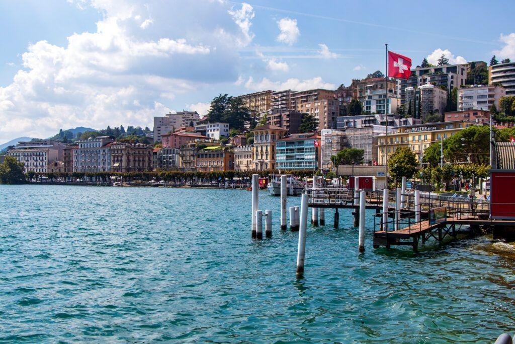 Przystań w Lugano