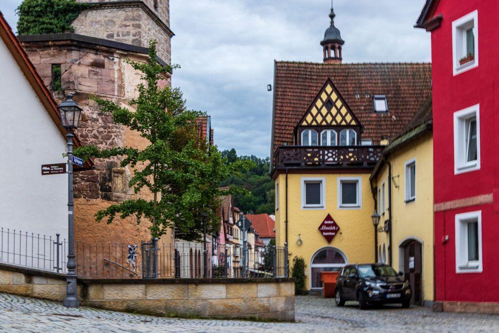 Kulmbach, w centrum