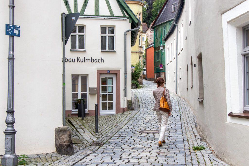 Kulmbach. Kolejna miła uliczka