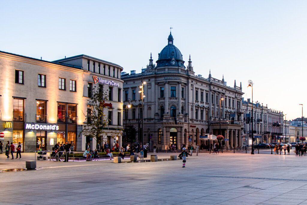 Wieczór w Lublinie