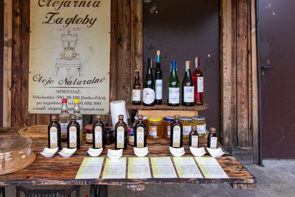 Produkty w Olejarni Zagłoba