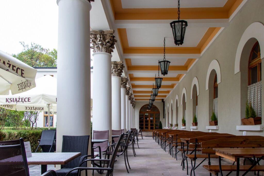 Kawiarnia w Sanatorium Marconi