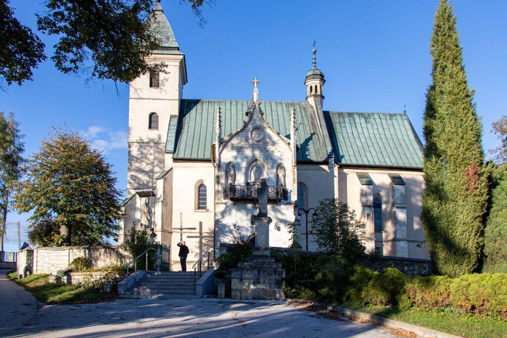 Wiślica, Bejsce i Sancygniów. Kościół w Sancygniowie