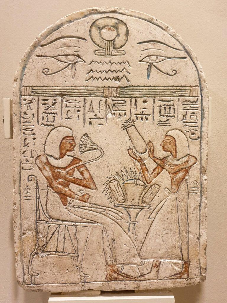 Muzeum Narodowe Galeria Sztuki Starożytnej. Płaskorzeźba egipska