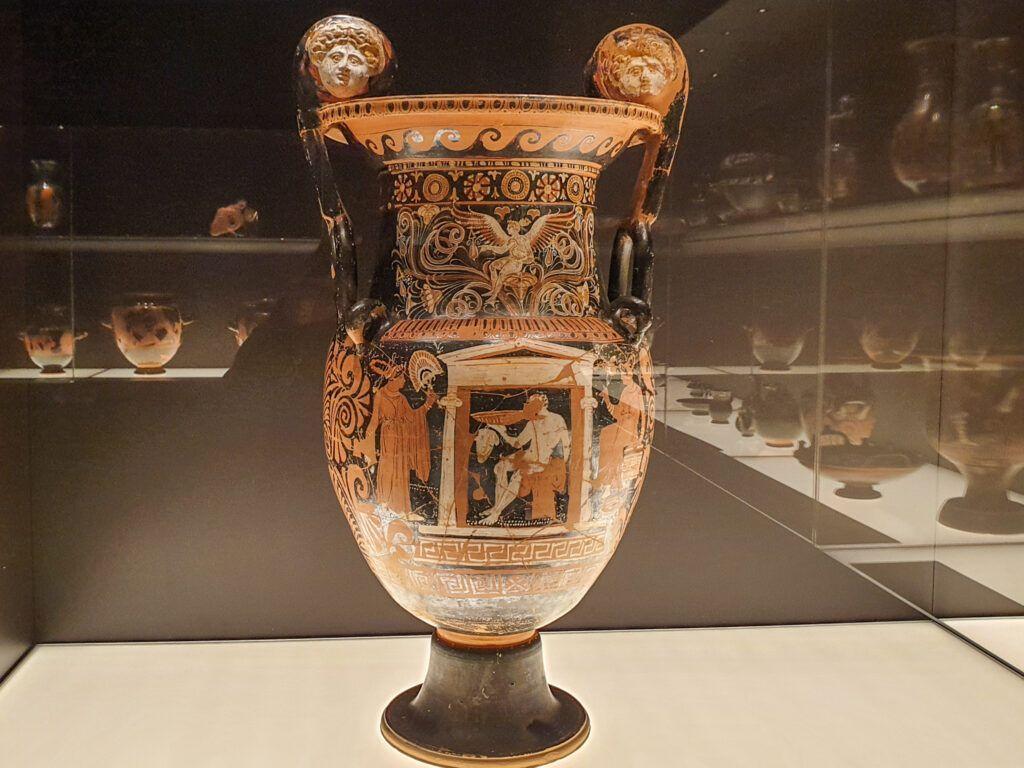 Muzeum Narodowe Galeria Sztuki Starożytnej. Amfora