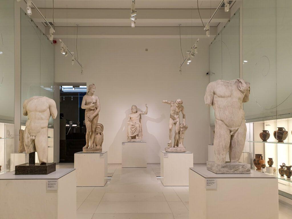 Muzeum Narodowe Galeria Sztuki Starożytnej, Sala muzealna