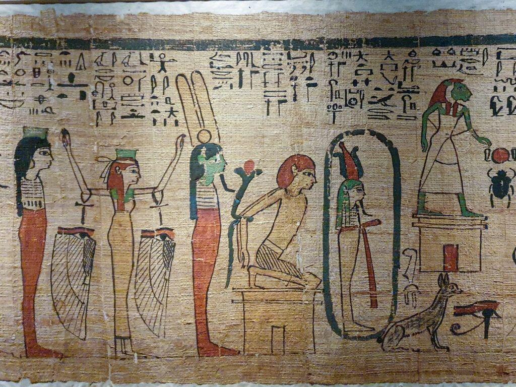 Muzeum Narodowe Galeria Sztuki Starożytnej. Papirus