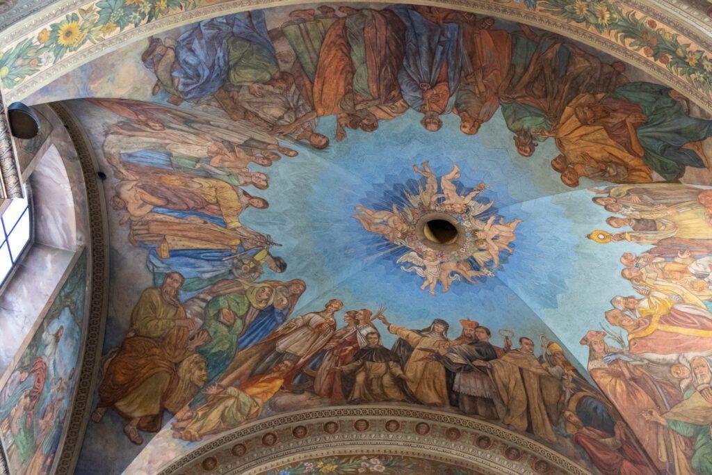 Malowidła w katedrze