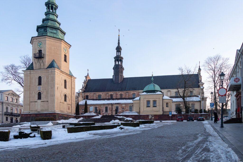 Kielce. Katedra