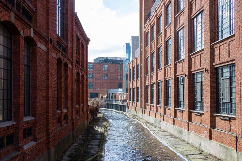 Budynki dawnej fabryki