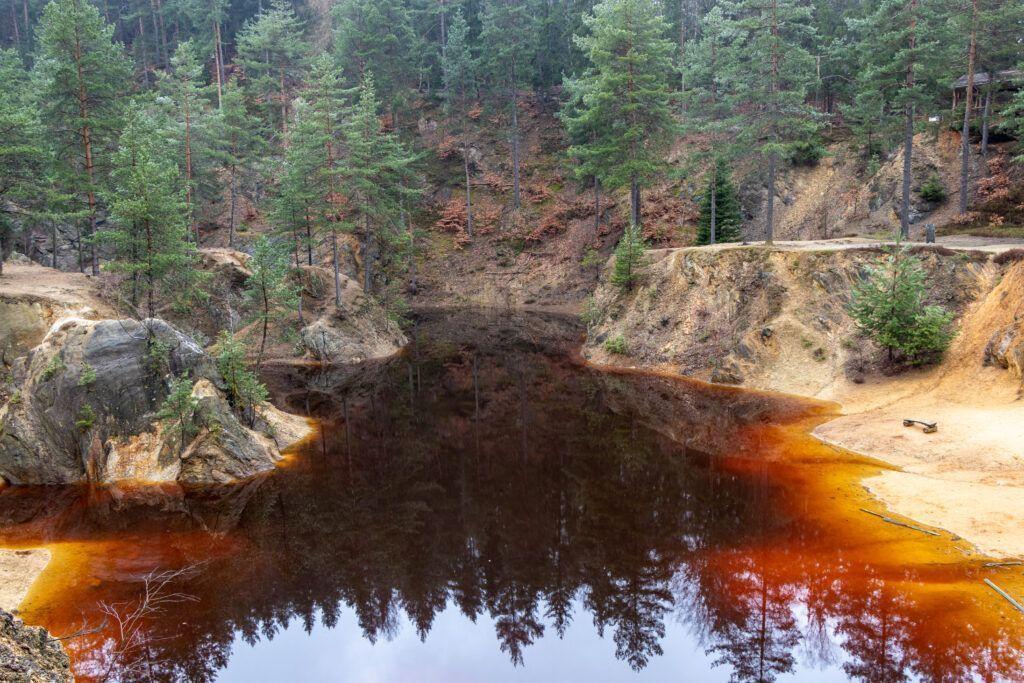 Rudawy Janowickie. Jeziorko Czerwone
