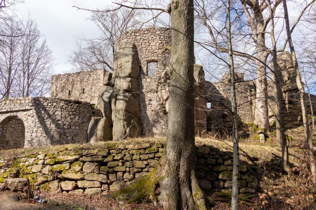 Zamek Bolczów, Starościńskie Skały, zamek