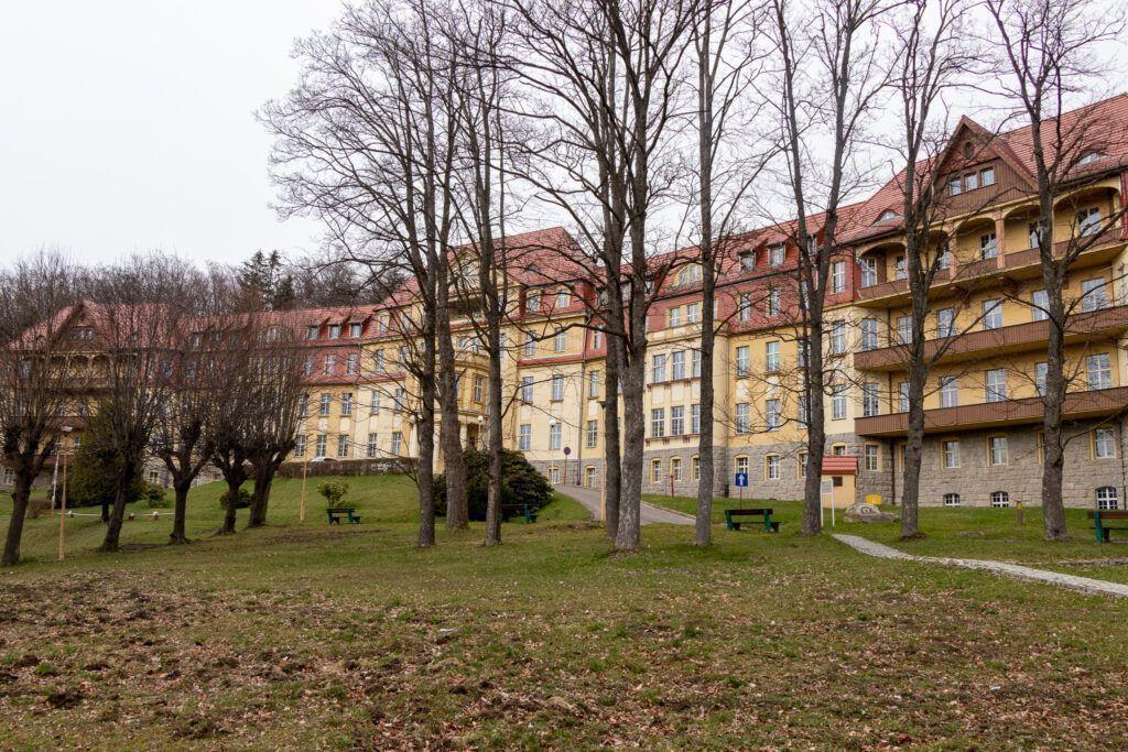 Kowary. Szpital Bukowiec