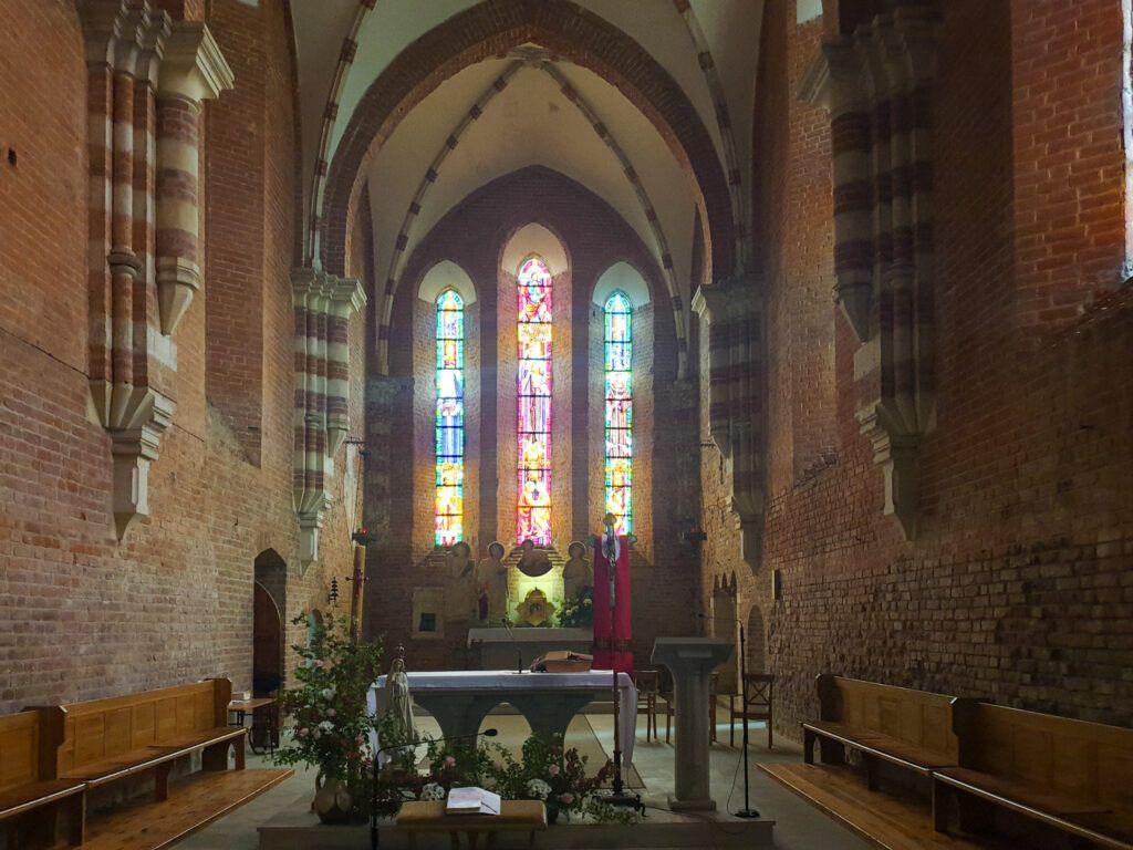 Zawichost. Wnętrze kościoła pod wezwaniem św. Jana Chrzciciela