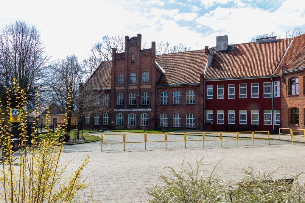 Orneta. Budynek szkoły