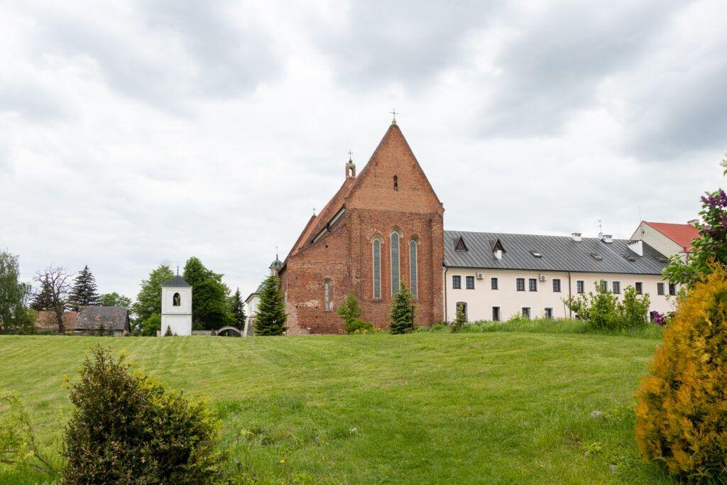 Zawichost. Kościół św. Jana Chrzciciela z klasztorem