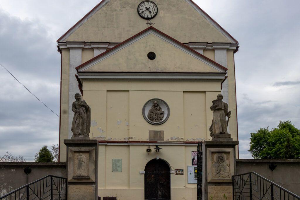 Zawichost. Kościół pod wezwaniem Wniebowzięcia Najświętszej Marii Panny