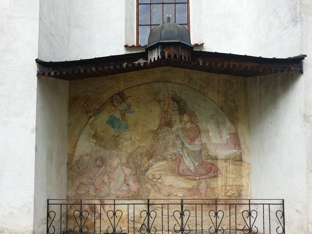 Malowidło na fasadzie