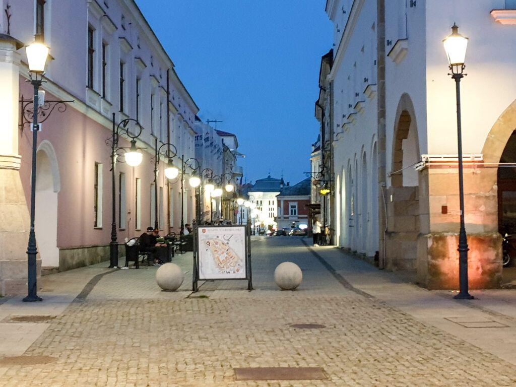 Wieczór w Krośnie
