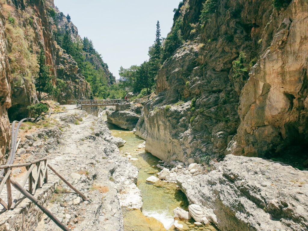 Wąwóz Samaria. Nasza trasa