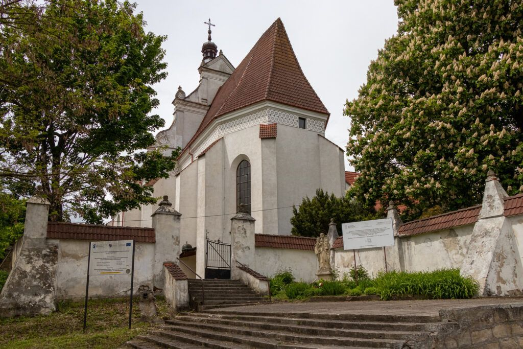 Klimontów. Kościół pod wezwaniem św. Jacka