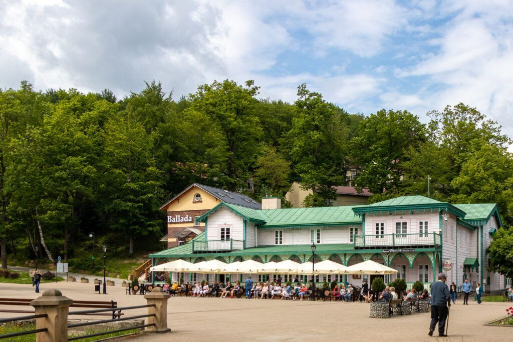 Iwonicz-Zdrój. Park Zdrojowy