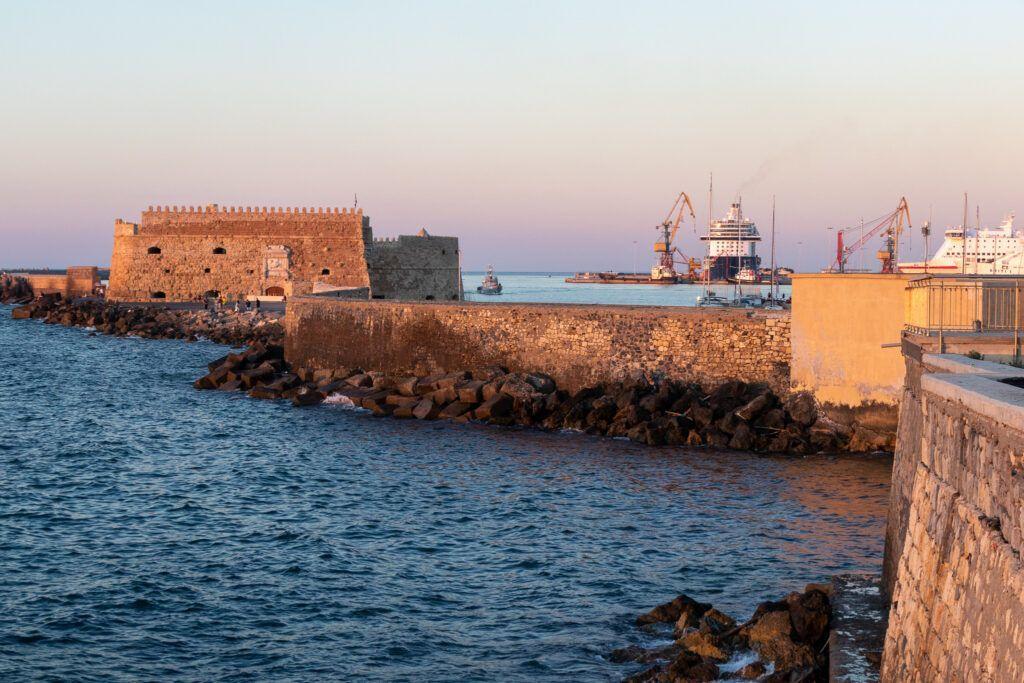 Heraklion. Forteca Koules