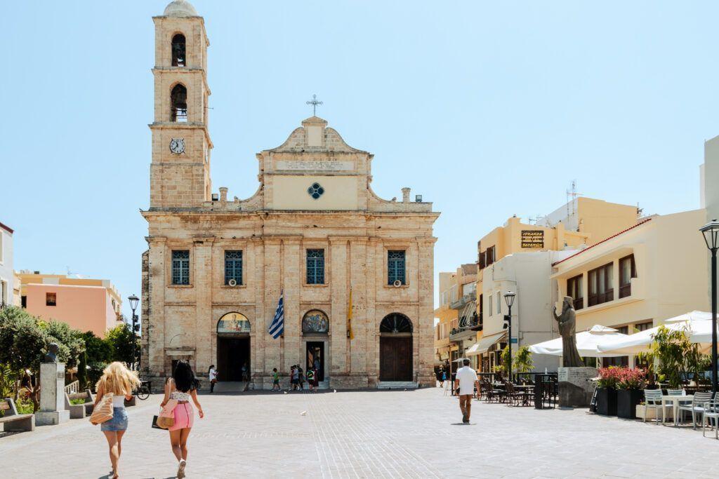 Chania zwiedzanie miasta. Katedra